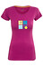 Ocun Pop Art Love Kortærmet T-shirt Damer violet